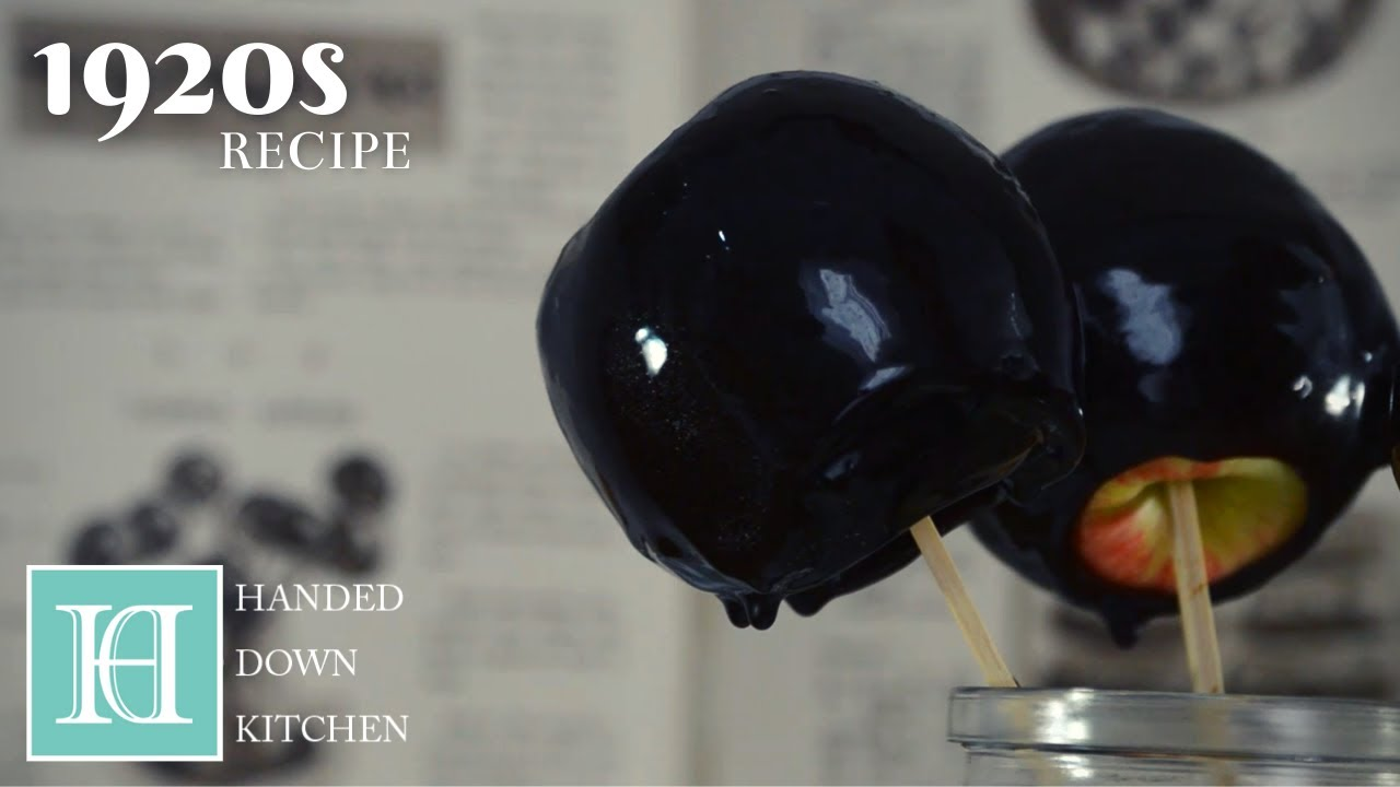 Toffee Apples ◆ 1920s Recipe