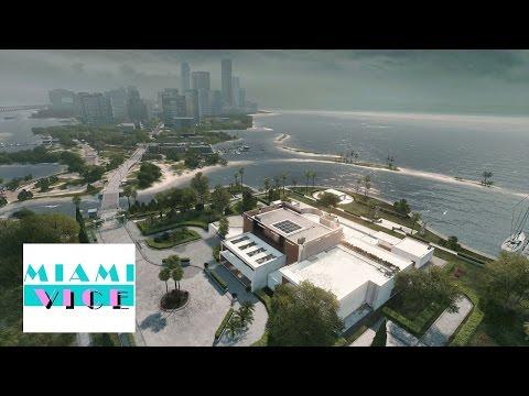 Battlefield hardline fan made - Miami vice theme soundtrack (Serie & Movie)