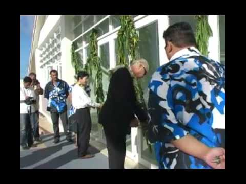 Telecom Sports Arena handed over to the Cook Islands
