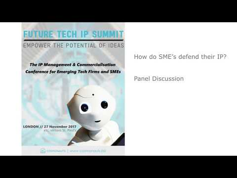 How do SME's defend their IP?
