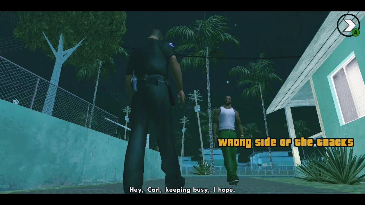 GTA SAN ANDREAS MOBILE PRIMEIRA GAME PLAY