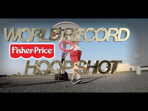 World Record Fisher-Price Hoop Shot