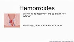 Hemorrhoids Spanish