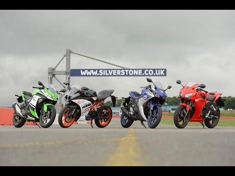 300cc Group Test Yamaha Yzf R3 V Honda Cbr300r V Ktm Rc390 V