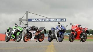 300cc Group Test: Yamaha YZF-R3 v Honda CBR300R v KTM RC390 v Kawasaki Ninja 300 I Bike Social