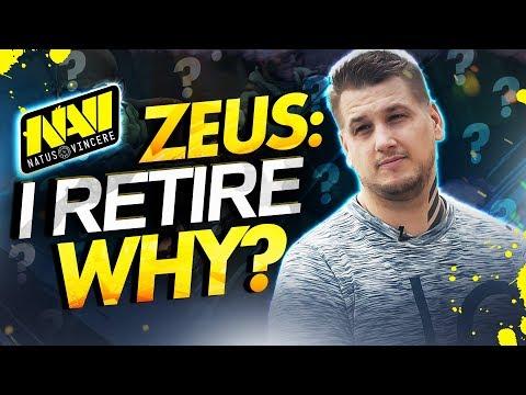 """NAVI Zeus: """"Я заканчиваю карьеру игрока"""" (Почему? Что дальше?)"""