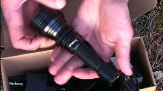 Taschenlampe Brinyte S28: Erster Eindruck und Test bei Nacht | Outdoor AusrüstungTV