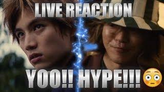 Urahara Kisuke REVEALED!!! BLEACH Live Action Trailer LIVE REACTION | PART # 1