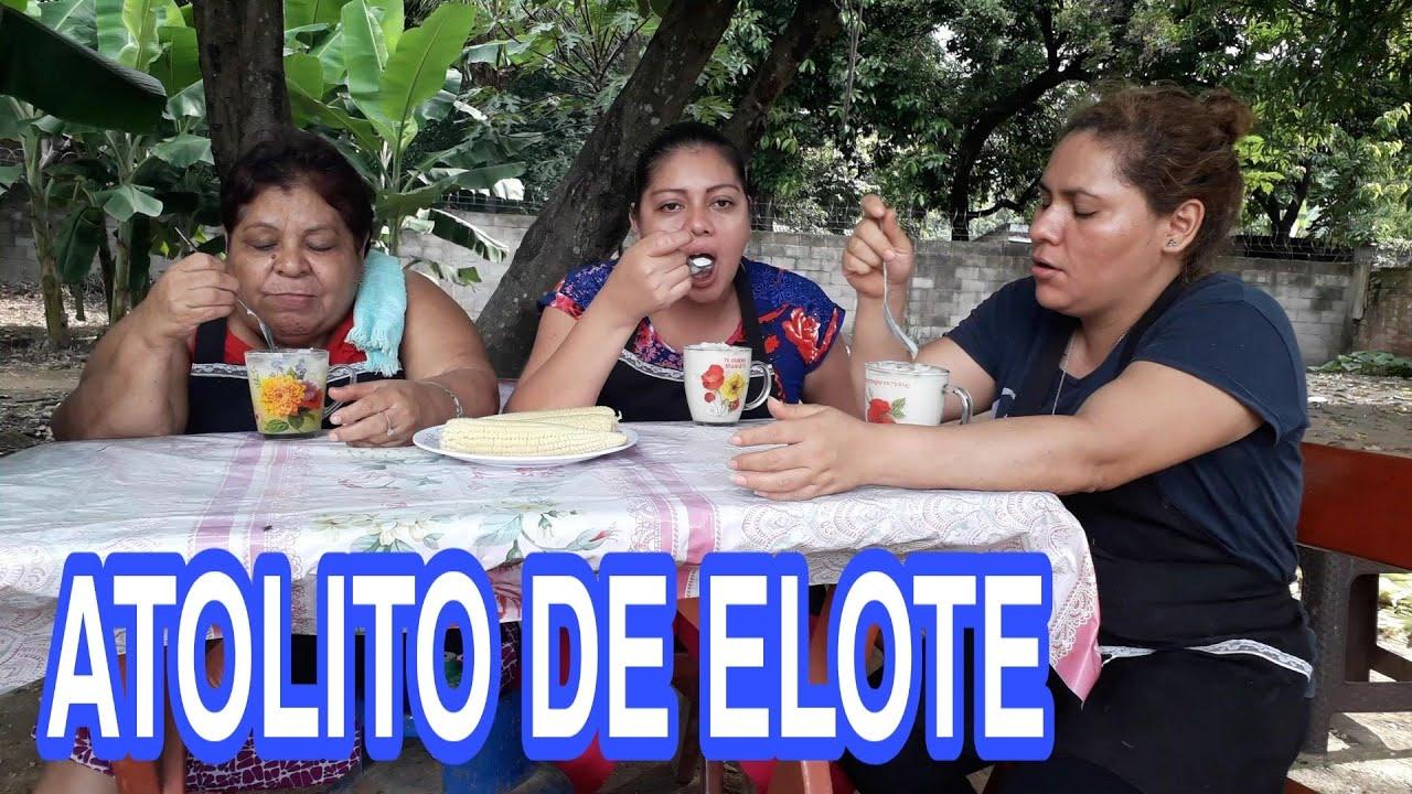 UN ANTOJITO DE LA TARDE ATOL Y ELOTES SANCOCHADOS