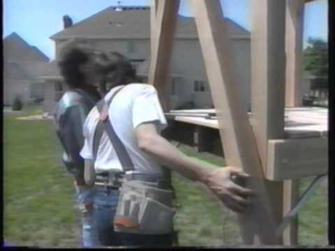 How To Build a Swing Set-TLC