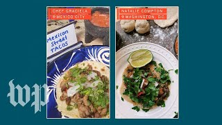 A virtual cooking experience brings Mexico City's tacos to your home