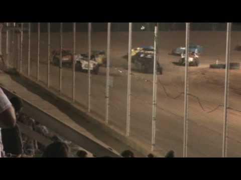 Open Wheel Pile-Up at Northwest Florida Speedway in Blackman, FL