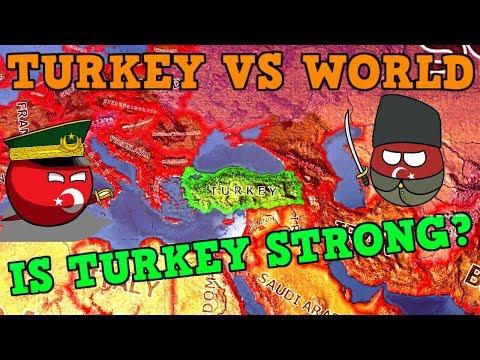 TURKEY VS THE WORLD - HEARTS OF IRON 4 LARGEST WAR [Hoi4] |