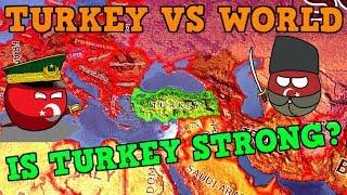 TURKEY VS THE WORLD - HEARTS OF IRON 4 LARGEST WAR [Hoi4]
