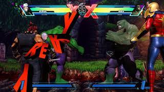 Ultimate Marvel vs Capcom 3 (Chicareu vs Hueboy)