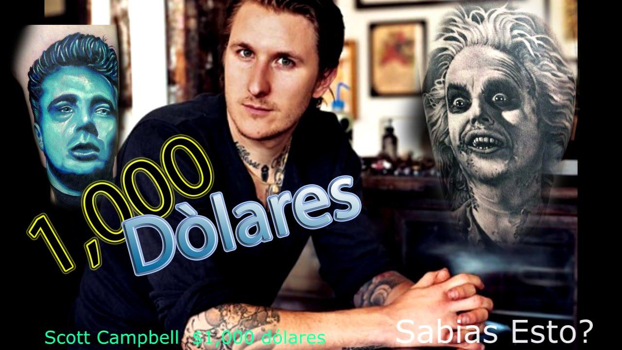 Los 10 Tatuadores Mas Caros Del Mundo Youtube