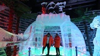 Inside The New Ice Park At Dubai Garden Glow
