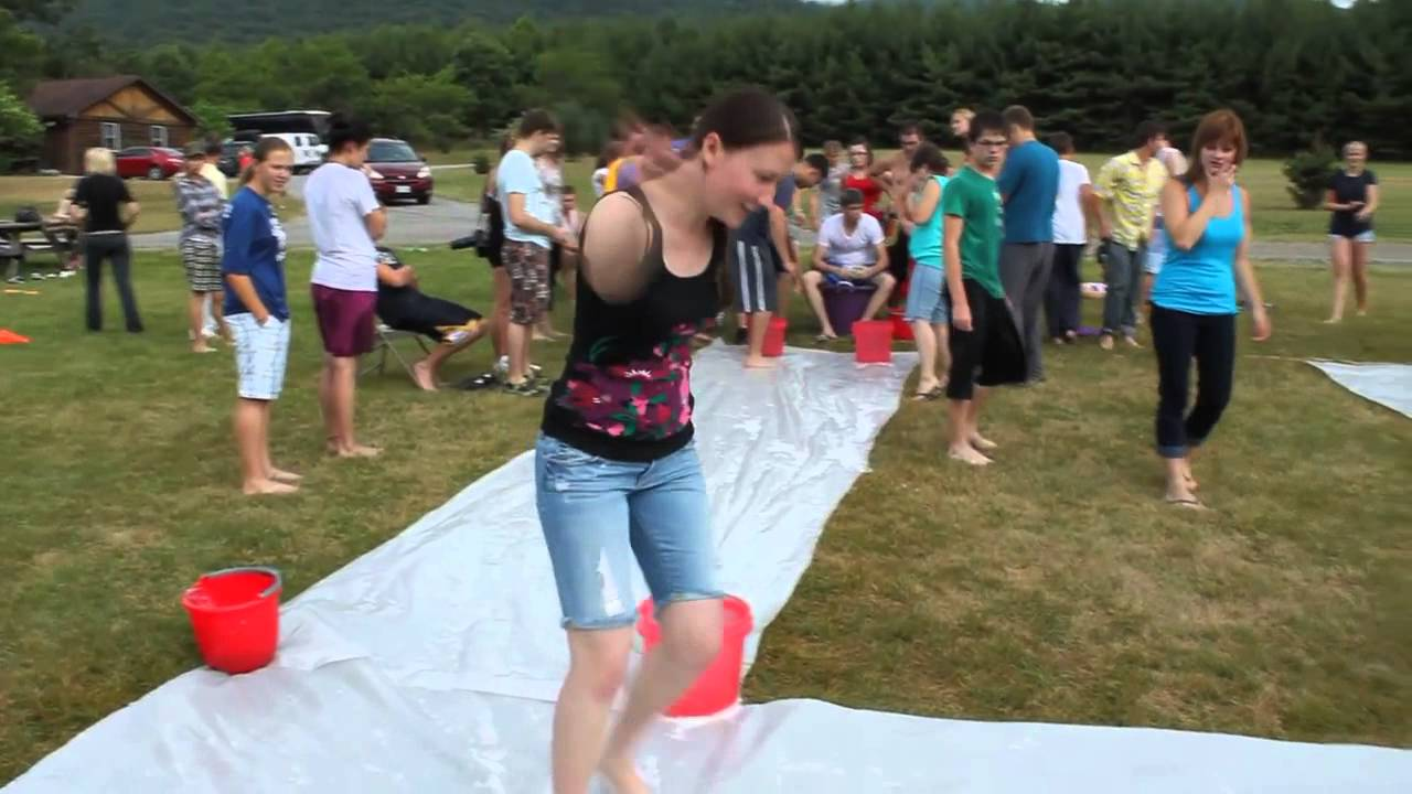 Team building games beach camp water games part 3 - Team building swimming pool games ...