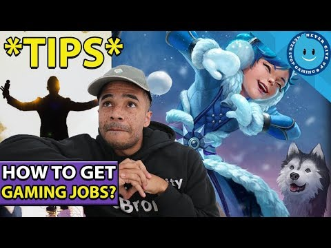 How To BREAK INTO The Video Game Industry!