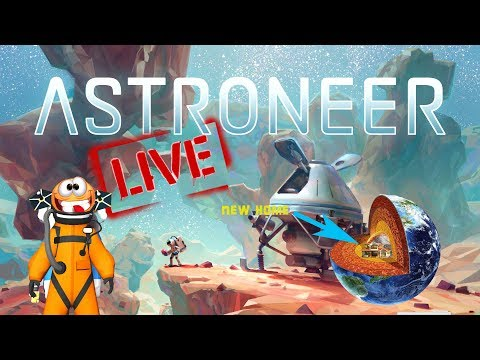 Astroneer Live - Starting A New World In The Centre Of A Planet #1