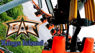 "The Bat Roller Coaster! Multi-Angle 4K POV! Kings Island, OH - Includes ""Vintage"" Bat Footage!"