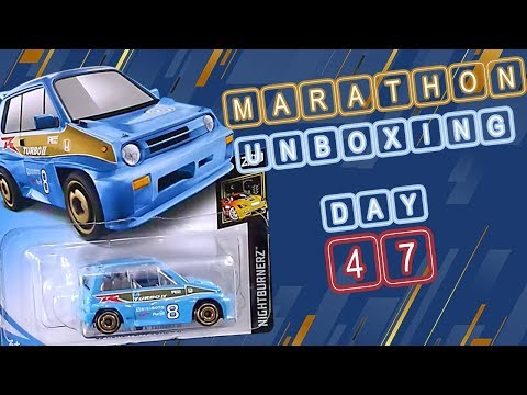 #68 Unboxing dan Review Diecast Hot Wheels Honda City Turbo II Biru