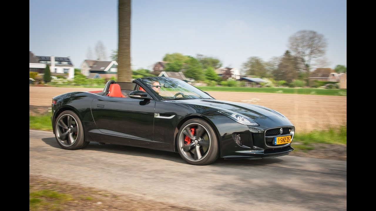jaguar f type v6 s convertible 2013 review youtube. Black Bedroom Furniture Sets. Home Design Ideas