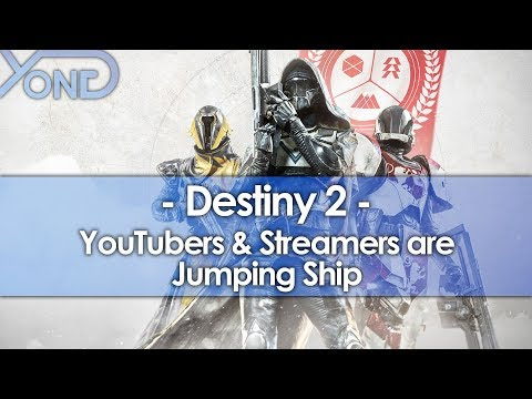 Destiny 2 YouTubers & Streamers are Jumping Ship