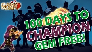 Clash of Clans - TH1 to TH10 CHAMPION in 100 DAYS GRAND FNALE!