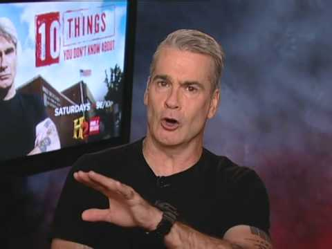 Henry Rollins (10 Things You Don't Know About) on Sidewalks Entertainment