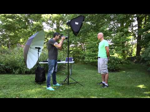 Photography Lighting Tips, Create A Photo Studio ANYWHERE!