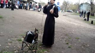 Проповедь перед могилами. Сергей.MPG