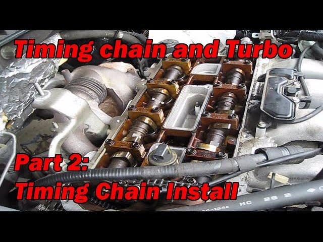 Mazda 3 MazdaSpeed6 CX-7 2.3L Engine Valve Timing Chain OEM L3K9-12-201A
