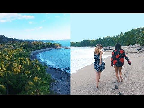 A HIDDEN SECRET BEACH IN COSTA RICA