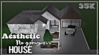 esthétique pas gamepass maison 💿 roblox bloxburg speedbuild