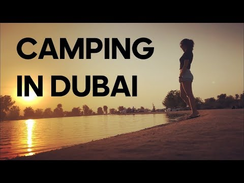 CAMPING IN DUBAI | AL QUDRA LAKE