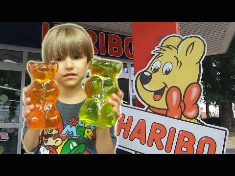 Visiting and Shopping at HARIBO Sweets Gummies Store​​​