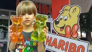 Visiting and Shopping at HARIBO Sweets Gummies Store thumbnail