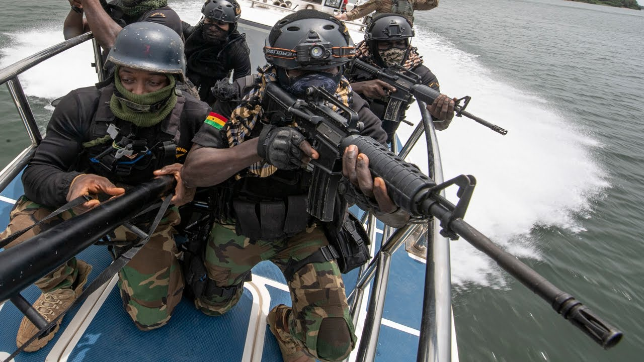 Ghanaian Navy Special Forces – Obangame Express 2021