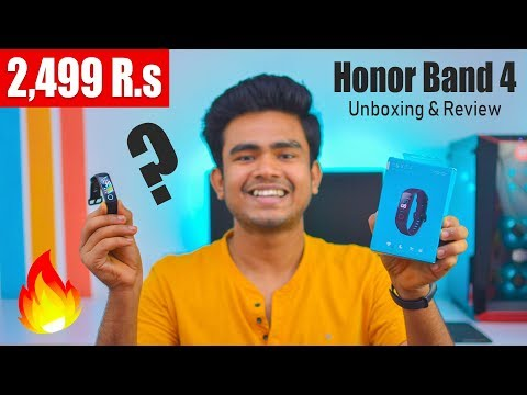Honor Band 4 Unboxing & Review | Bangood | Best Fitness Band India 2019