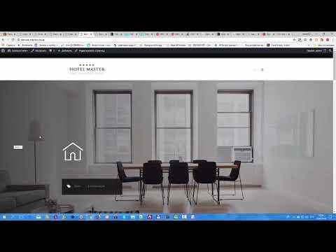 Бронирование гостиницы WordPress Тема| Hotel Master