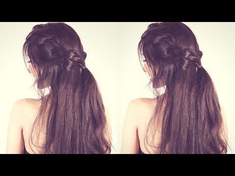 Running Late Hairstyle Prom Crown For Medium Hair | Long Lasting Crown Braid thumbnail