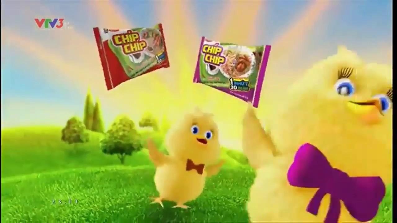 Quảng cáo mì Chíp Chíp – Chú gà đáng yêu