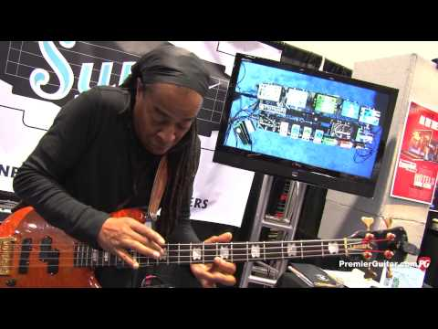 NAMM '13 - Pigtronix Philosopher Bass Compressor, Bass Fat Drive, and Bass Envelope Phaser
