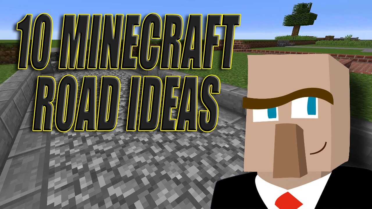 how to create a road in minecraft