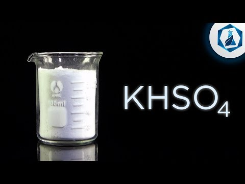 Гидросульфат калия (KHSO4).
