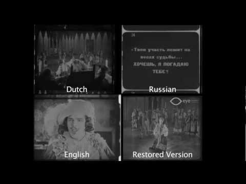 Restoration of The Spanish Dancer (1923)