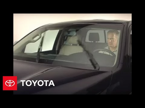 2007 - 2009 Tundra How-To: Wipers and Washers | Toyota