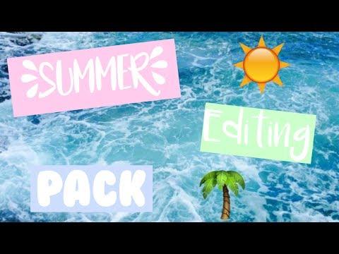 Summer Editing Pack (Music, fonts, greenscreens) | Ashlees DIY Life