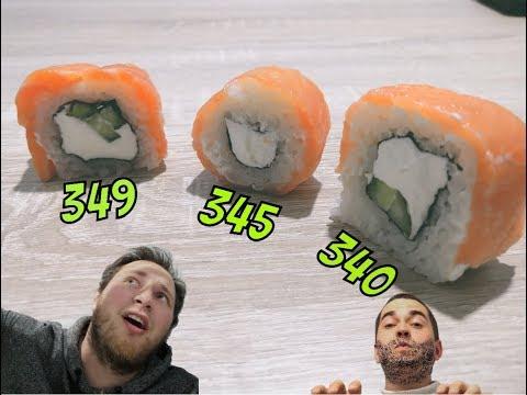 Пробуем ИРКУТСКИЕ роллы (Sushi Studio, Итария, Ёби*аёби)